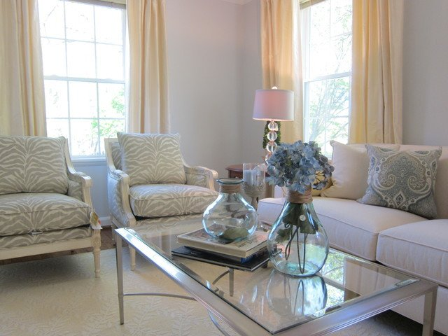 Traditional Chic Living Room Lovely Cozy Chic Fairlington Home
