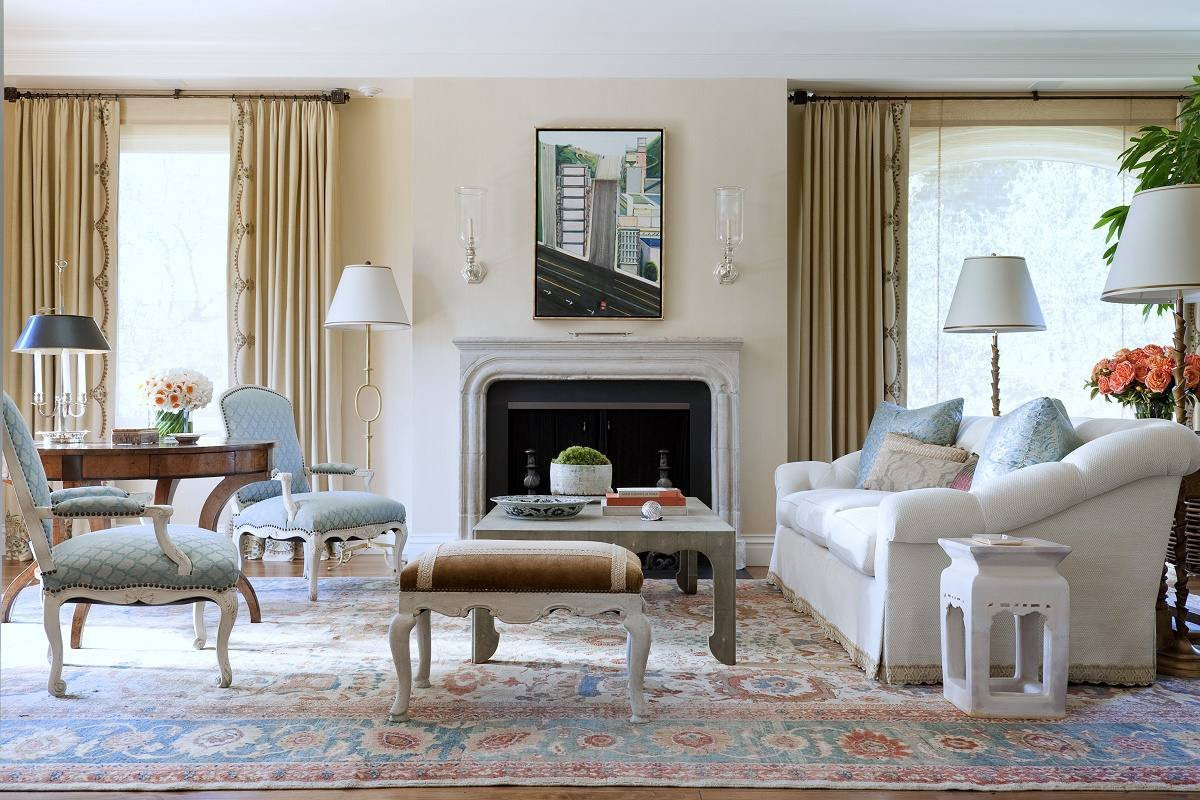 Traditional Chic Living Room Lovely Relaxed Traditional Style Pacific Heights