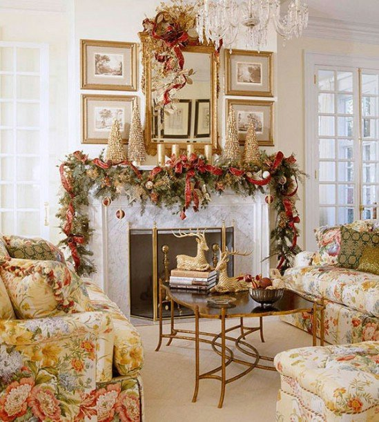 Traditional Christmas Living Room Awesome 30 Stunning Ways to Decorate Your Living Room for Christmas Diy & Crafts
