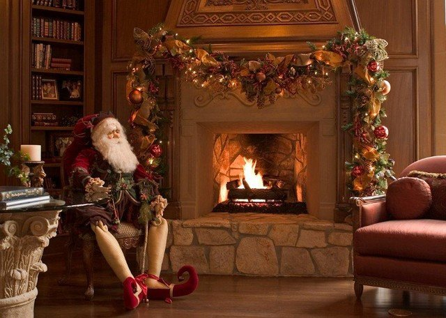 Traditional Christmas Living Room Best Of Christmas Interior Traditional Living Room Houston by Regina Gust Designs