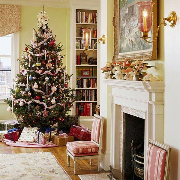 Traditional Christmas Living Room Best Of Indoor Christmas Tree Decoration Ideas