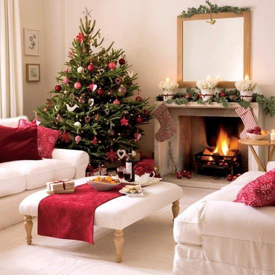 Traditional Christmas Living Room Fresh Merry Christmas Decorating Ideas for Living Rooms and Fireplace Mantels