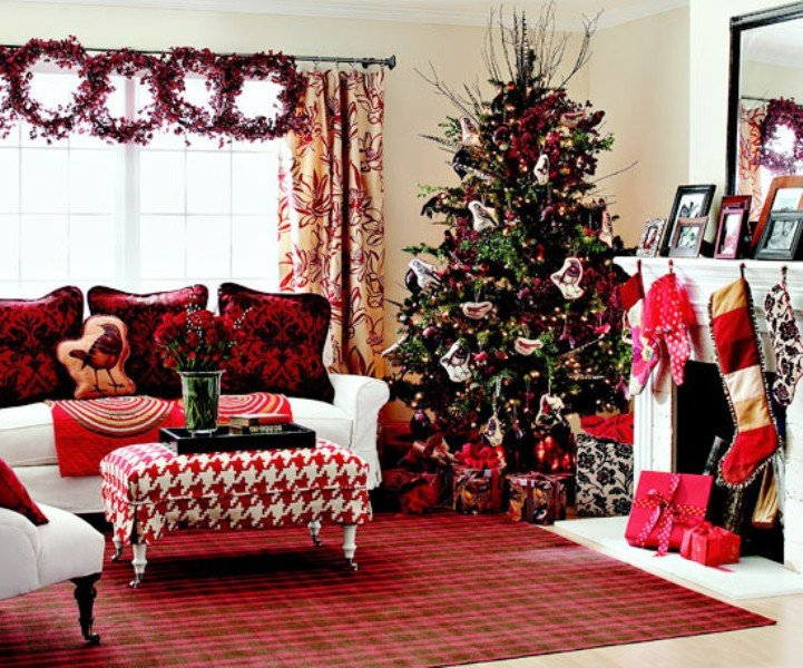 Traditional Christmas Living Room Inspirational 40 Traditional Christmas Decorations