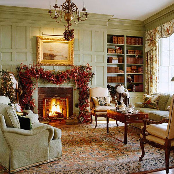 Traditional Christmas Living Room Lovely 40 Traditional Christmas Decorations