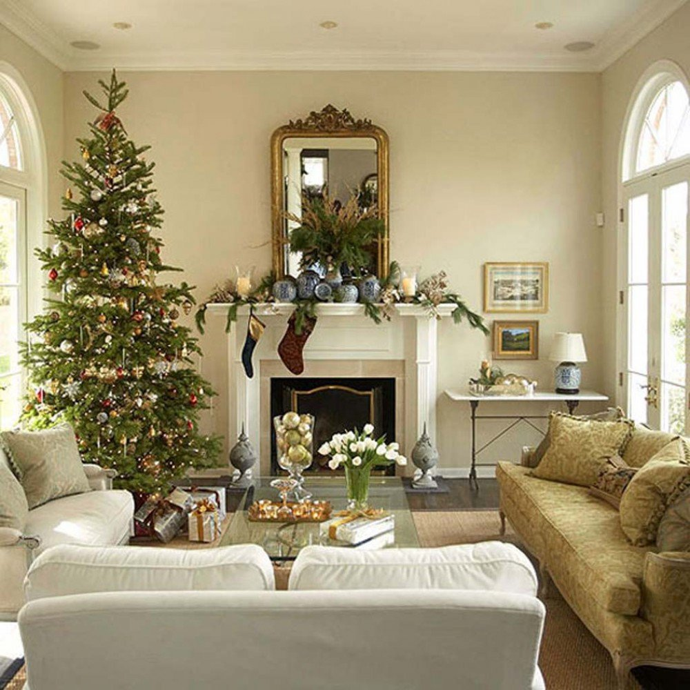 Traditional Christmas Living Room Lovely Get Inspired with these Amazing Living Rooms Decor Ideas for Christmas