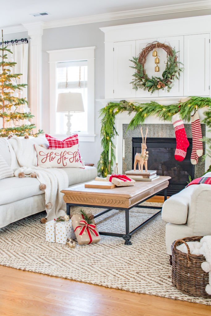 Traditional Christmas Living Room Luxury Traditional Christmas Living Room tour 2017 Saw Nail and Paint