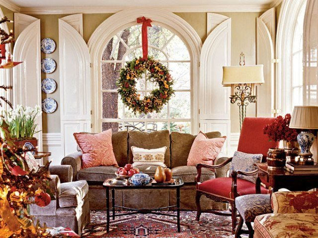 Traditional Christmas Living Room New A southern Accents Christmas the Glam Pad