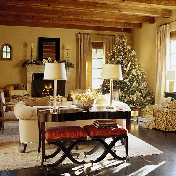 Traditional Christmas Living Room Unique 40 Traditional Christmas Decorations