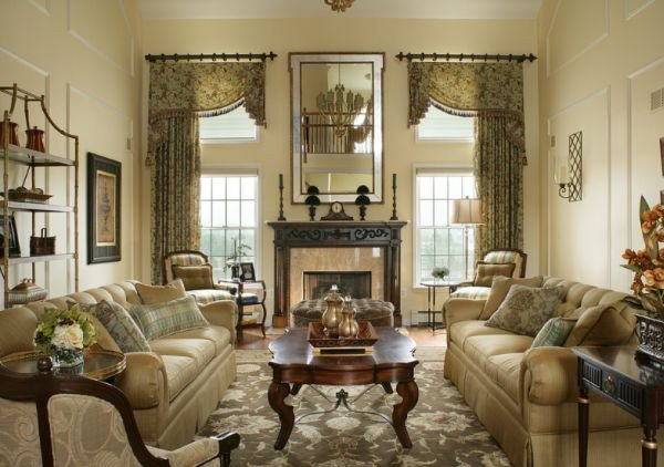 Traditional Draperies Living Room Awesome 10 Traditional Living Room Décor Ideas
