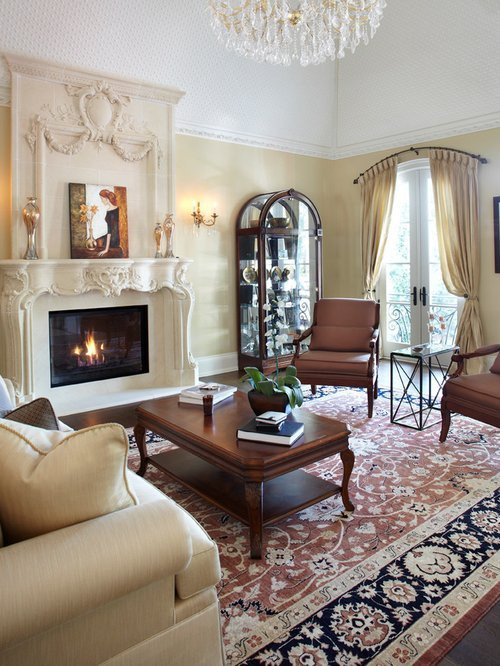 Traditional Draperies Living Room Beautiful Arch Window Treatment