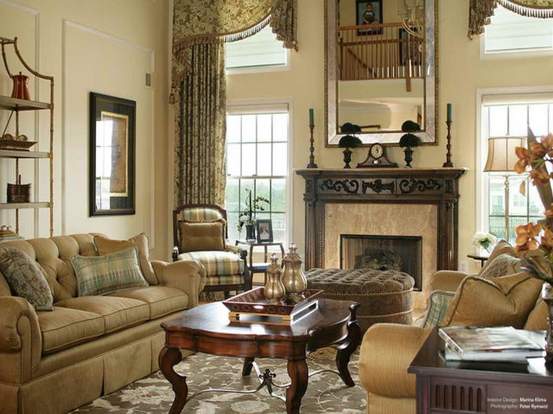 Traditional Draperies Living Room Elegant Living Room Window Treatment Ideas Home Ideas Blog