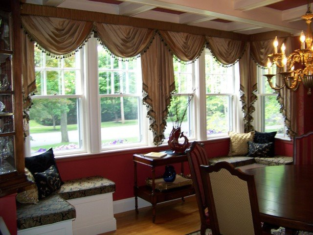 Traditional Draperies Living Room Inspirational Custom Drapes by Maison Decor