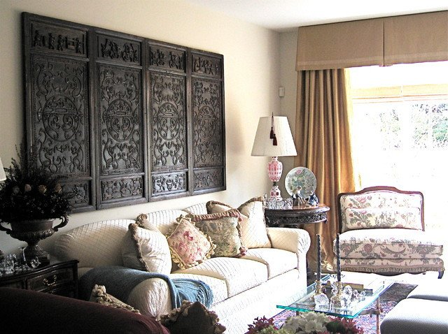 Traditional Eclectic Living Room Beautiful asian Eclectic Home Traditional Living Room Detroit by A Peltier Interiors