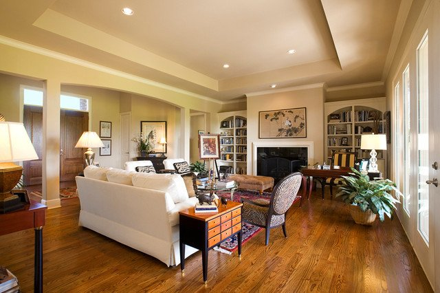 Traditional Eclectic Living Room Lovely Eclectic Design Traditional Living Room Dallas by Doris Younger Designs