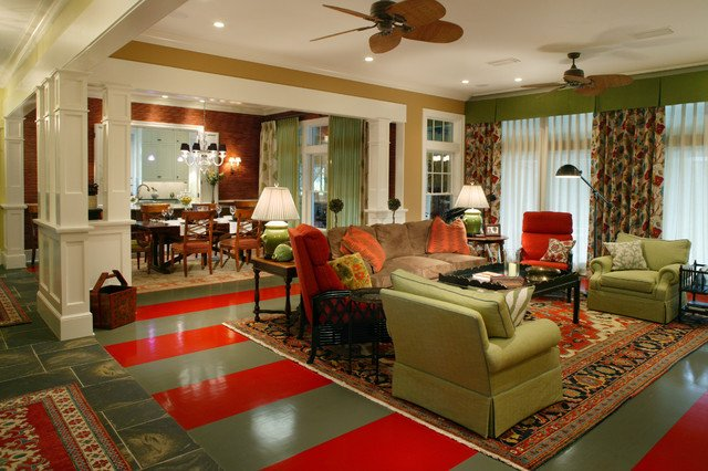 Traditional Eclectic Living Room Lovely Traditional Eclectic Eclectic Living Room Jacksonville by Amanda Webster Design