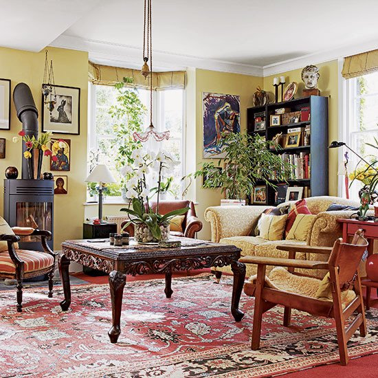 Traditional Eclectic Living Room Unique How Rugs Can Revitalise Living Rooms