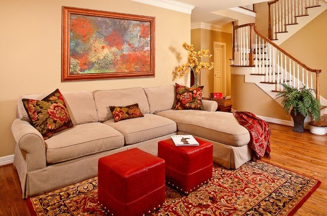 Traditional Green Living Room Awesome Certified Green Home Traditional Living Room Houston by Gryphon Builders