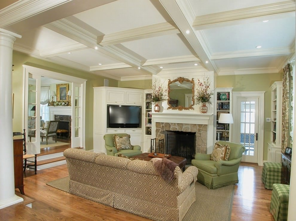 Traditional Green Living Room Beautiful 21 Green Living Room Designs Decorating Ideas