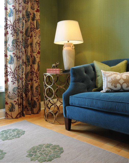 Traditional Green Living Room Best Of Green Living Room Traditional Living Room Dc Metro by Bossy Color