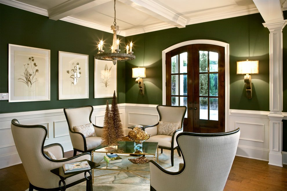 Traditional Green Living Room Inspirational 23 Green Wall Designs Decor Ideas for Living Room