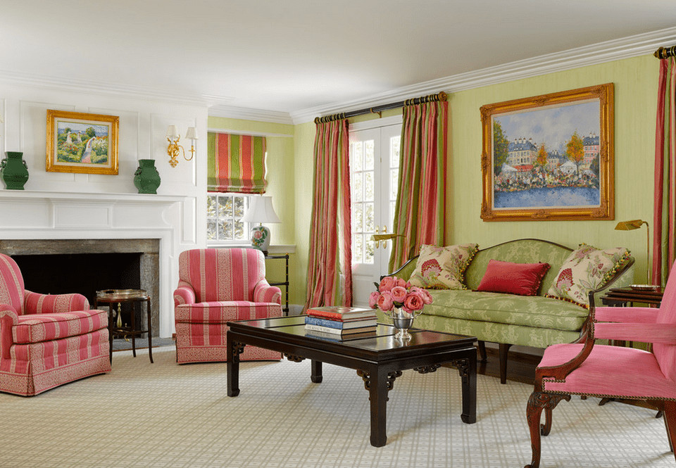 Traditional Green Living Room Inspirational Green Living Room Ideas