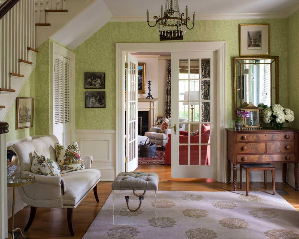 Traditional Green Living Room Lovely 23 Green Wall Designs Decor Ideas for Living Room