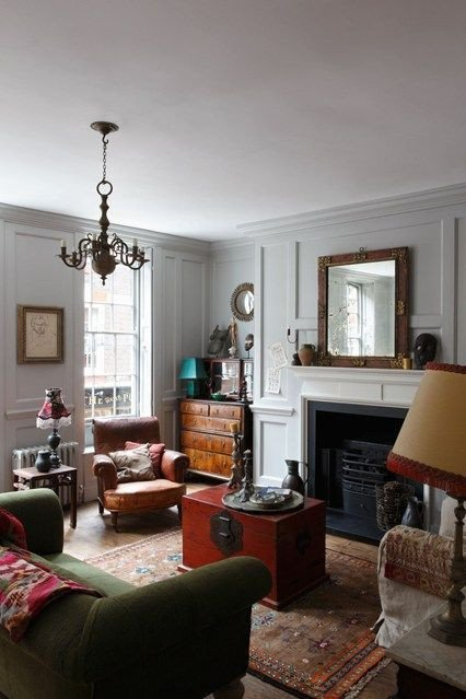 Traditional Green Living Room New Traditional Green sofa and Living Room Designs On Pinterest