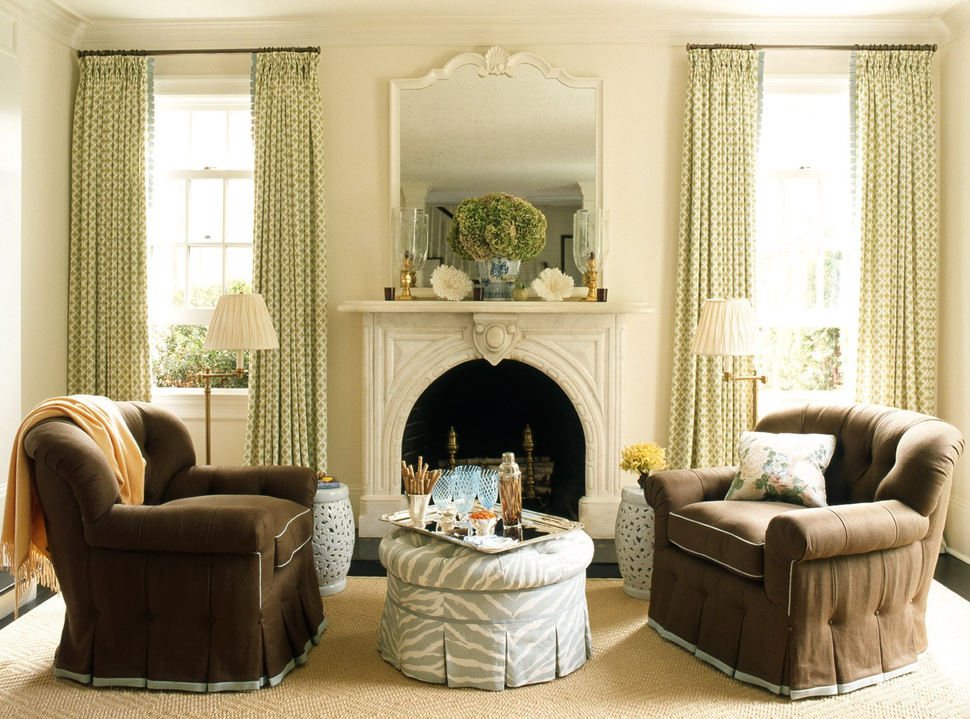 Traditional Green Living Room Unique How to Decorate Series Finding Your Decorating Style