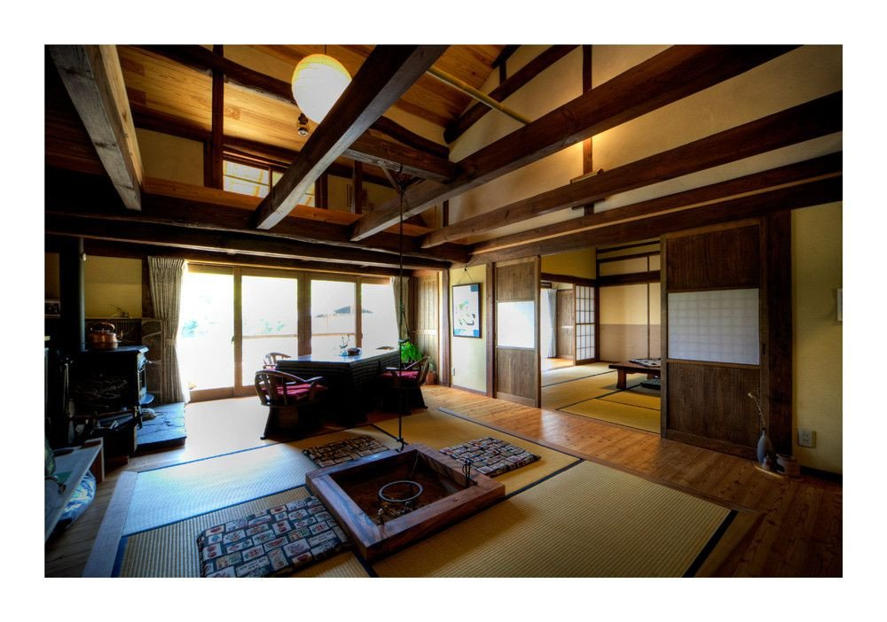 Traditional Japanese Living Room Beautiful Living In Old Japanese House 2 Image & by Tad Kanazaki From Details Graphy