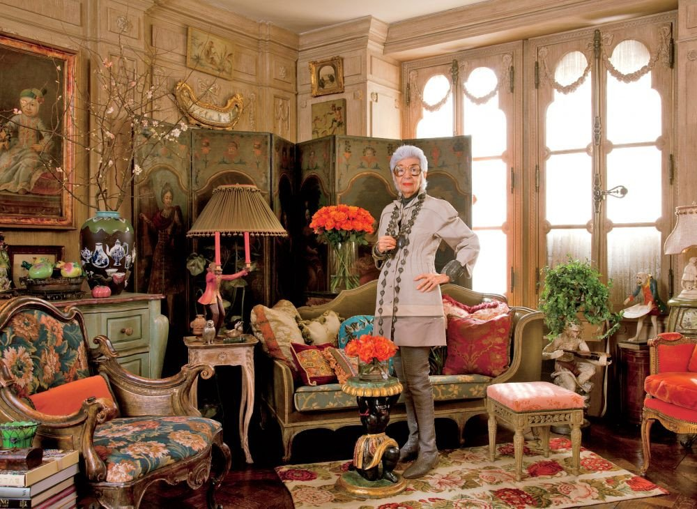 Traditional Living Room Apartment Best Of Traditional Living Room by Iris Apfel by Architectural Digest