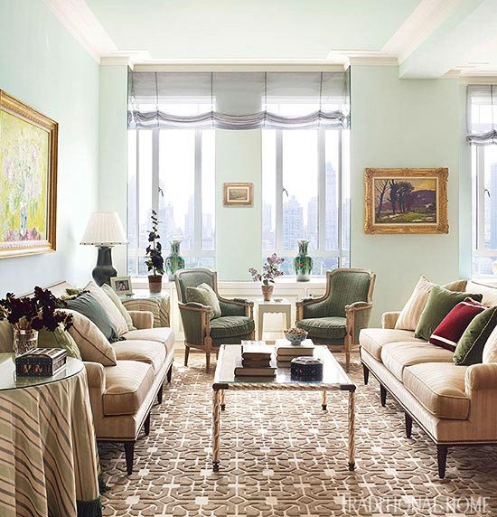 Traditional Living Room Apartment Luxury New York Apartment with Elegant British Style