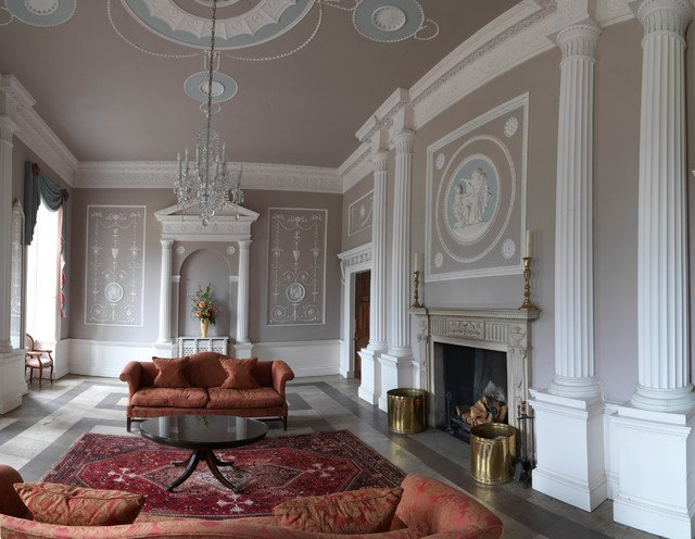 Traditional Living Room Apartment New Apartment In A Robert Adam Country House Traditional Living Room Other Metro by Icon