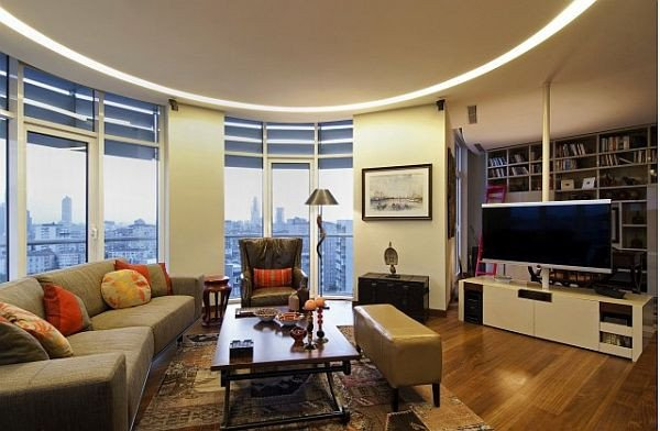 Traditional Living Room Apartment New Luxury Home In istanbul Traditional Style Meets Contemporary