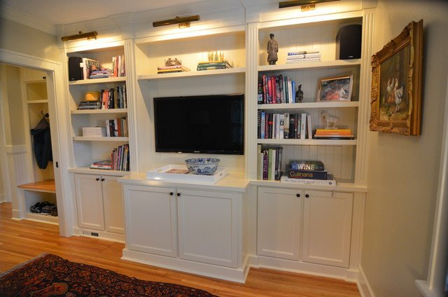 Traditional Living Room Bookcases Beautiful Built In Bookcases Traditional Living Room Portland by Roloff Construction Inc