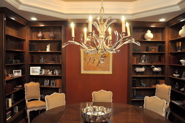 Traditional Living Room Bookcases Inspirational Walnut Dining Room Bookcases Traditional Living Room Boston by G B Woodworking