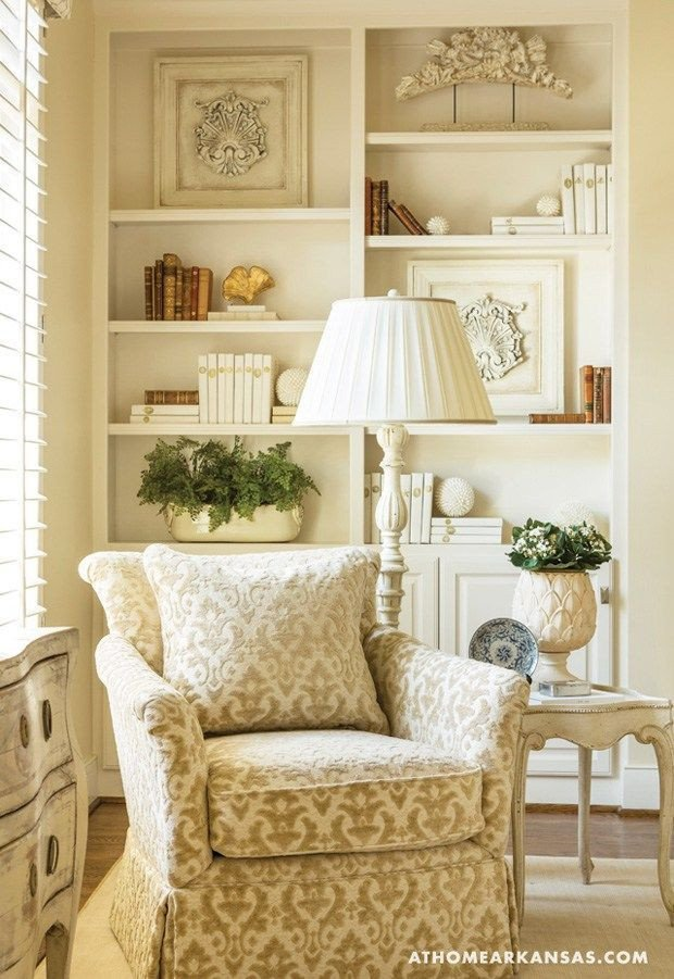 Traditional Living Room Bookcases New Home tour A southern Kitchen In Neutral Territory