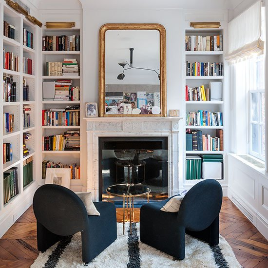 Traditional Living Room Bookcases New Shelving Ideas Design Ideas
