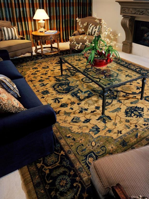 Traditional Living Room Carpets Awesome Traditional Living Room and Blue sofa