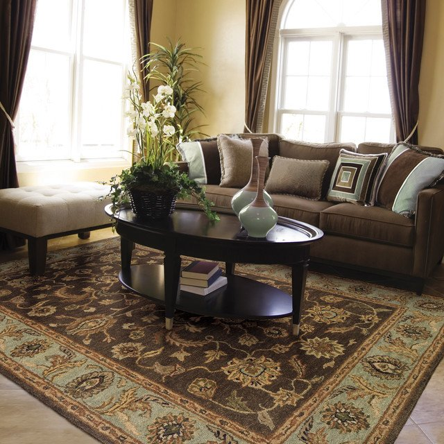 Traditional Living Room Carpets Elegant Living Rooms Traditional Living Room Kansas City by area Rug Dimensions