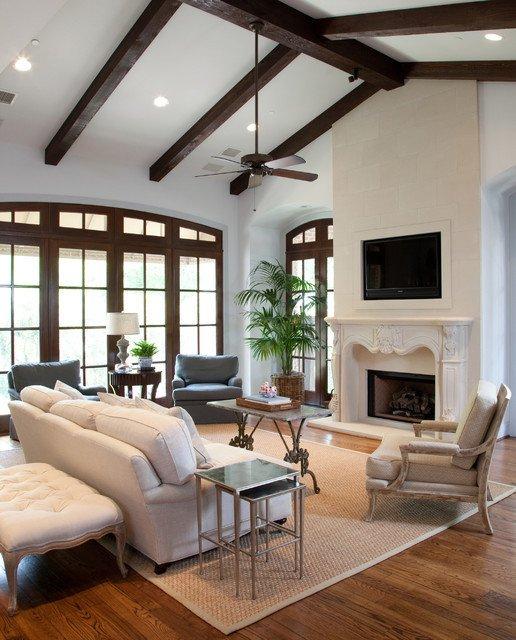 Traditional Living Room Ceiling Elegant Bellaire Residence Traditional Living Room Houston by Grettworks