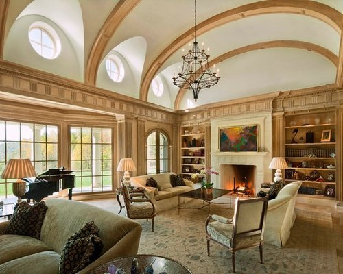 Traditional Living Room Ceiling Luxury Living Room Vaulted Ceiling Home Design Ideas Remodel and Decor