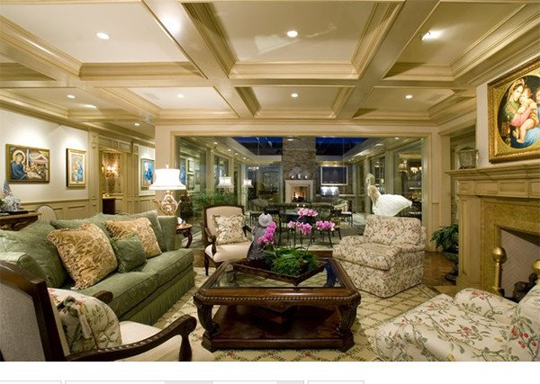 Traditional Living Room Ceiling New 15 Beautiful Traditional Coffered Ceiling Living Rooms Living Room and Decorating