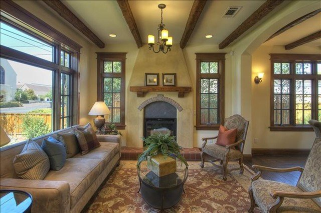 Traditional Living Room Ceiling New Faux Wood Beam Ceiling Designs Traditional Living Room New York by Fauxwoodbeams