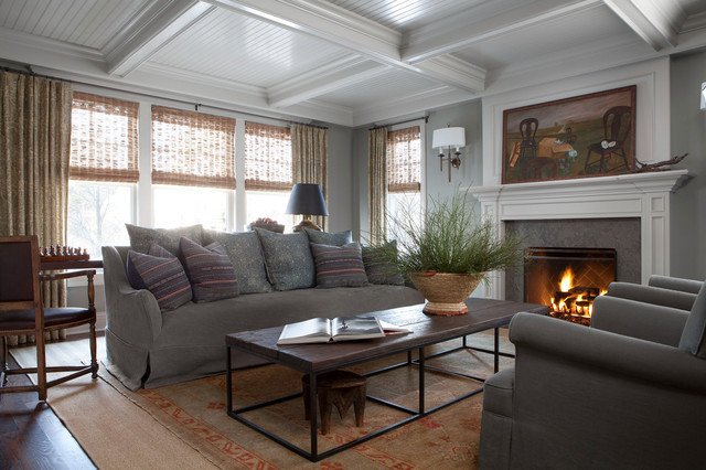 Traditional Living Room Ceiling Unique 35 Decorative Coffered Ceiling Design Ideas with