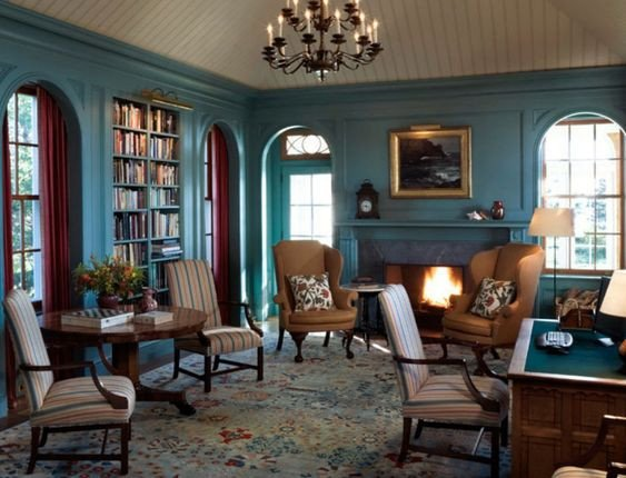 Traditional Living Room Color Best Of Traditional Style Living Room Painted In Teal Blue Dulux S Color Of the Year 2014