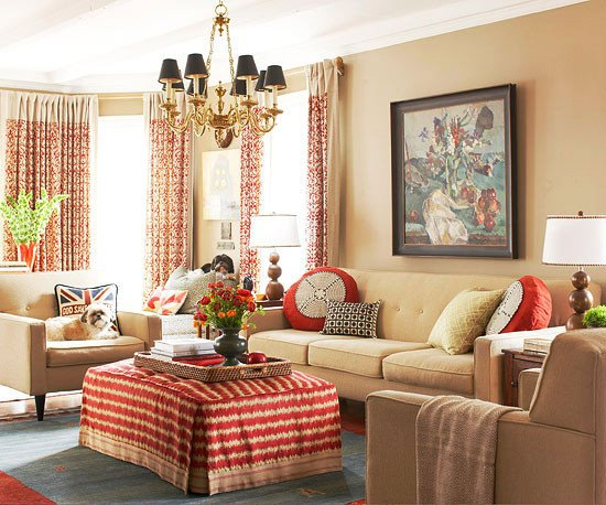 Traditional Living Room Decorating Ideas Awesome 2013 Traditional Living Room Decorating Ideas From Bhg