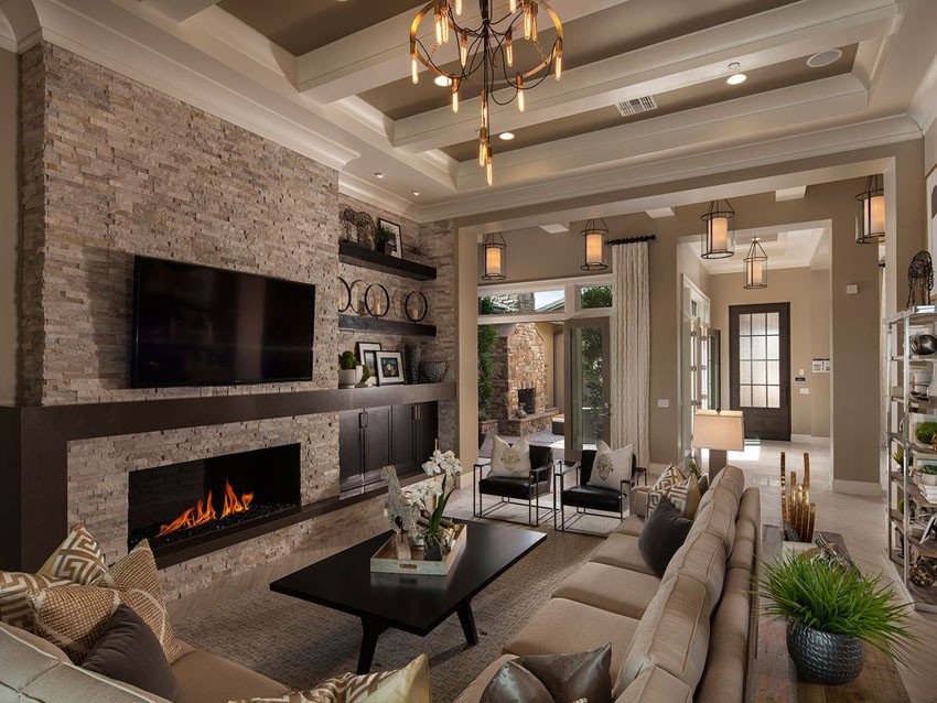 Traditional Living Room Fireplace Best Of 27 Beautiful Earth tone Living Room Designs Designing Idea