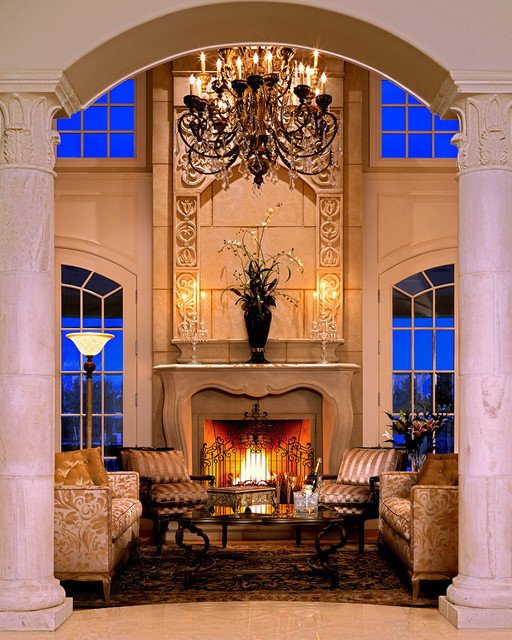 Traditional Living Room Fireplace Inspirational Pachel Stone Mantel Traditional Living Room Denver by Distinctive Mantel Designs Inc