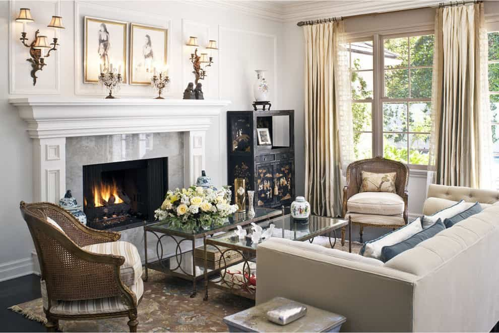 Traditional Living Room Fireplace Lovely 10 Best Mantel Decorating Ideas for A Fabulous Fireplace [photos ]