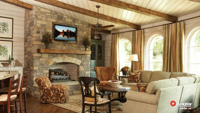 Traditional Living Room Fireplace Luxury isokern Fireplaces Traditional Living Room Sacramento by Rustic Brick and Fireplace